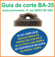 Guia de corte Deco-Bliss BA-35 art.9868
