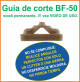 Guia de corte Deco-Bliss BF-50 art.9867