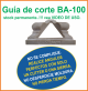 Guia de corte Deco-Bliss BA-100 art.9875