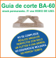 Guia de corte Deco-Bliss BA-60 art.9869