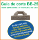Guia de corte Deco-Bliss BB-25 art.9863