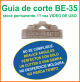 Guia de corte Deco-Bliss BE-35 art.9866